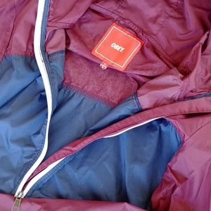 Obey windbreaker/rain jacket